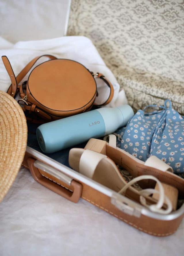 arrumar a mala viagem verão