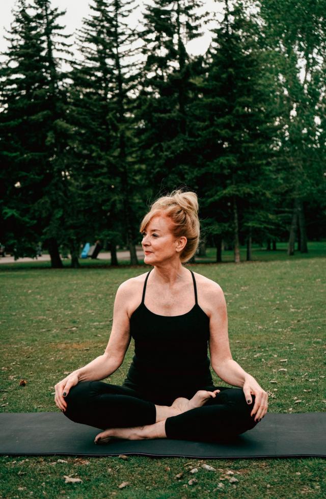 ioga na maturidade