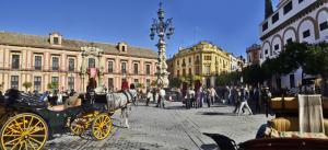 centro histórico sevilha