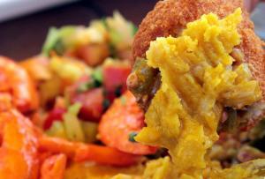 acarajé bahia brasil culinária