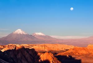 deserto atacama chile vale da lua